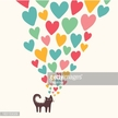Computer Graphics,Elegance,Decor,Love,Happiness,Romance,Symbol,Gift,Design,Animal,Drawing - Activity,Tail,Colors,Pink Color,Striped,Old-fashioned,Domestic Cat,Springtime,Day,Decoration,Backgrounds,Beauty,Heart Shape,Computer Graphic,Child,Greeting Card,Valentine Card,Cute,Ornate,Valentine's Day - Holiday,Illustration,Celebration,Cartoon,Inviting,Kitten,Vector,Pets,Fashion,Holiday - Event,Beautiful People,Invitation,Background,Design Element