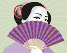 Geisha,Fan,Japanese Culture...