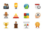 Icon Set,Symbol,Business,Co...