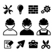 Hardhat,Symbol,Manual Worke...