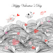 Valentine Card,Bird,Color I...