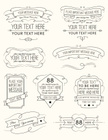 Vintage Calligraphy Elements Six
