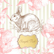 Hare,Invitation,Cute,Easter...