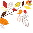 Bird,Clip Art,Tree,Leaf,Ilu...