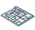 Isometric,Built Structure,I...