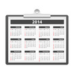 2014,Calendar,Winter,Vector...