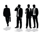 Business Person,Silhouette,...