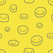Human Face,Yellow,Happiness,Circle,Joy,Group Of People,People,Smiling,Textile,Wallpaper Pattern,Bizarre,Style,Eternity,Design Element,Pattern,Textured Effect,Cute,Ornate,Gift,Abstract,Cartoon,Symbol,Repetition,Computer Graphic,Covering,Beauty,Vector,Modern,Seamless,Fashionable,template,Ideas,Sign,Emotion,Design,Fragility,Creativity,Textured,Painted Image,Celebration,Fashion,Backdrop,Backgrounds,Vibrant Color,Decoration