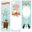 Christmas,Label,Tag,Penguin,Poster,Hot Air Balloon,Retro Revival,Old-fashioned,Santa Claus,Banner,Billboard Posting,Vertical,Set,Placard,New Year's Eve,Holiday,Holly,Bear,Frame,Bird,New Year,Cartoon,Greeting,Cheerful,template,Gift,Happiness,Cute,Greeting Card,Backgrounds,Tree,Snowflake,Creativity,Invitation,Symbol,Bell,Branch,Blue,Decor,Ornate,Congratulating,Winter,Design Element,Celebration,Humor,Copy Space,New Year's Day,Decoration