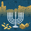Hanukkah,Jerusalem,Backgrou...