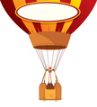 Basket,Hot Air Balloon,Illu...
