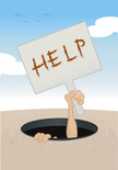 Help Wanted Sign,Help,Hole,...