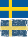 Sweden,Flag,Faded,Grunge,Te...