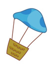 Hot Air Balloon,Clip Art,Sp...