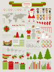 Infographic,Christmas,Winte...