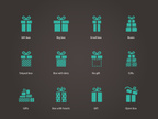 Computer Icon,Symbol,Gift,Flat,Birthday,Celebration,Ilustration,Collection,Holiday,Ribbon,Isolated,Anniversary,Event,Vector,Concepts,Christmas,Box - Container,Set,Design,Internet,Connection,Sign,Computer Graphic