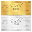 Gold Colored,Gift Certifica...