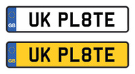 Plate,Car,Registration,UK,A...