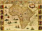 Map,Africa,Old,Cartography,...