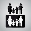Family,Color Image,Ilustrat...