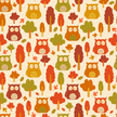 Owl,Autumn,Forest,Clip Art,...