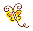 Clip Art,Insect,Crayon,Flying