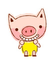 Clip Art,Animal,Pig,Crayon,...