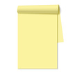 Note Pad,Yellow,Page,Open,B...