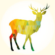 polygonal,Abstract,Deer,Ant...