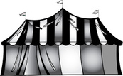 Toned Image,Circus,Striped,...