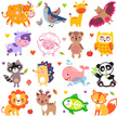 Tropical Rainforest,Panda - Animal,Child,Doodle,Cow,Animals In The Wild,Animal,Whale,Lion - Feline,Vampire Bat,Toy,Vector,Puppy,Owl,Lioness,Zoo,Quail - Bird,Bird,Cute,Doll,Raccoon,Illustration,Multi Colored,Deer,Fox,Hedgehog,Lamb - Animal,Heart Shape,Yak,Collection,Dog,Nature,Sheep,Giraffe,Young Animal,Animal Wildlife,Love - Emotion,Cartoon,Bear