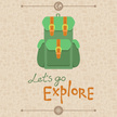 Backpack,Exploration,Vector...