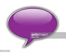 Purple,Speech,Color Image,H...