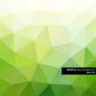 Abstract,Green Color,Triang...