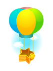 Hot Air Balloon,Clip Art,Gi...