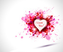 Heart Shape,Pink Color,Vale...