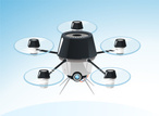 Drone,Octocopter,Robot,Airp...