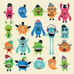 Child,Monster,Halloween,Cute,Hipster,Characters,Animal,Birthday,Cartoon,Alien,Body,Computer Icon,Heart Shape,Vector,Ilustration,Fun,T-Shirt,Angel,Print,Eyeglasses,Animal Teeth,Banner,Design,Cheerful,Isolated,Multi Colored,Shape,Ghost,Collection,Vibrant Color,Horned,Part Of,editable,Human Lips,Bow Tie,Holiday,Hat,Variation,customizable,Beard,Demon,Mustache,Personal Accessory,Book,Bizarre