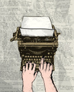 Typewriter,Data,Retro Reviv...