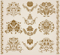 Crown,Brocade,Backgrounds,O...