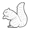 Squirrel,Clip Art,Cheerful,...