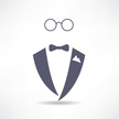 Tuxedo,Wedding,Symbol,Busin...