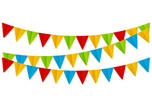 Flag,Bunting,Party - Social Event,Celebration,Birthday,Frame,Fun,String,Anniversary,Hanging,Design Element,Red,Vector,Design,Decoration,Decor,Holiday,Color Image,Green Color,Blue,Event,Triangle,Ornate,Multi Colored,Bright