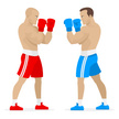 Two People,Boxing,Confronta...