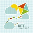Kite - Toy,Toy,Cloud - Sky,...