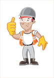 Safety,Men,Cartoon,Working,Security,Occupation,Construction Industry,Boot,Construction Worker,Manual Worker,Characters,Smiling,Hardhat,Happiness,Protective Eyewear,Miner,Ilustration,Positive Emotion,Eyeglasses,Mining,Reflective Clothing,People,Clip Art,Industry,Orange Color,Work Helmet,One Person,Protective Glove,Yellow,Protective Workwear