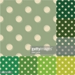 Green Color,Circle,Pattern,...