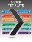 Infographic,tabs,Number 6,S...