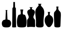 Vase,Bottle,Silhouette,Clos...