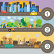 Cityscape,Infographic,Stree...